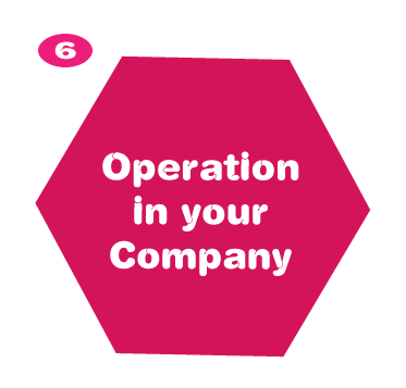 Operation in your company